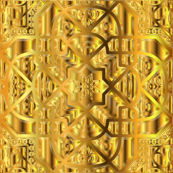 Chromatic Geometric Line Art 25