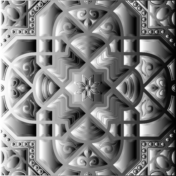 Chromatic Geometric Line Art 28