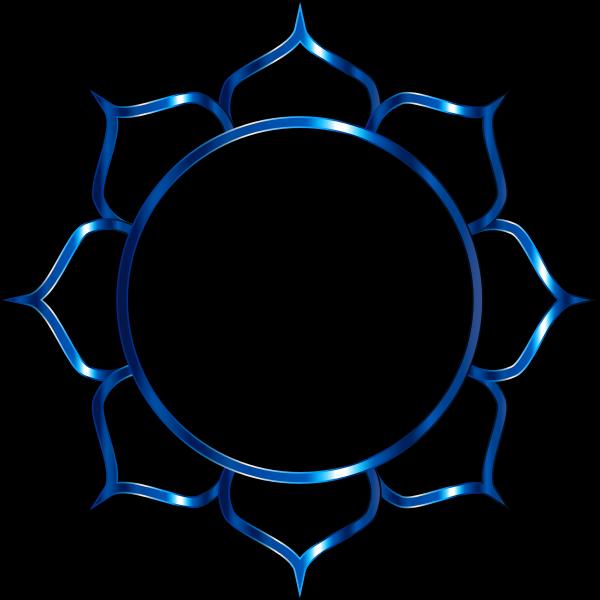 Chromatic Lotus Flower Line Art 6
