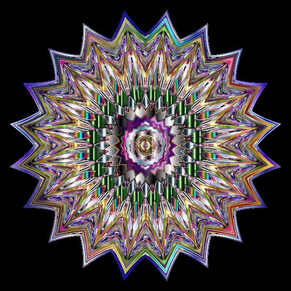 Chromatic Mandala 2 No Background