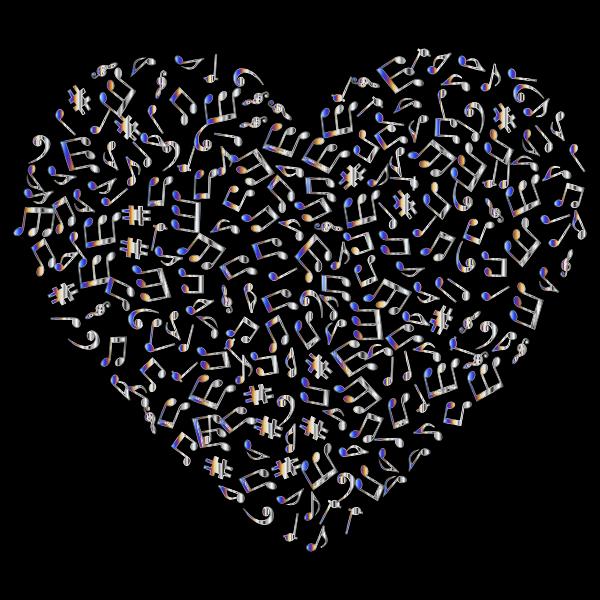 Chromatic Musical Heart 4 2