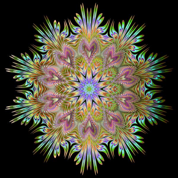 Chromatic Symmetric Mandala 4