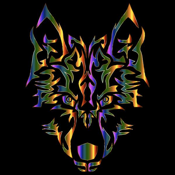 Chromatic Symmetric Tribal Wolf