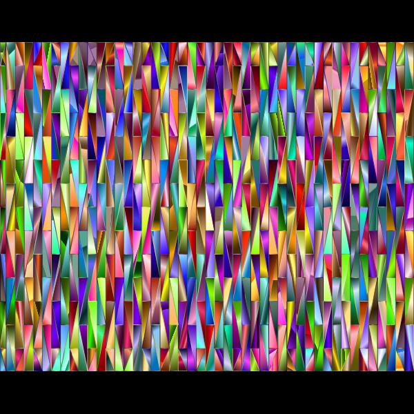 Chromatic pattern background