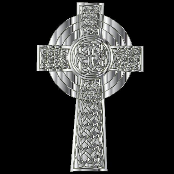 Chrome Celtic Cross