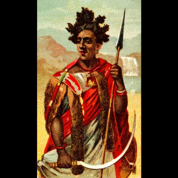 Abyssinian spear