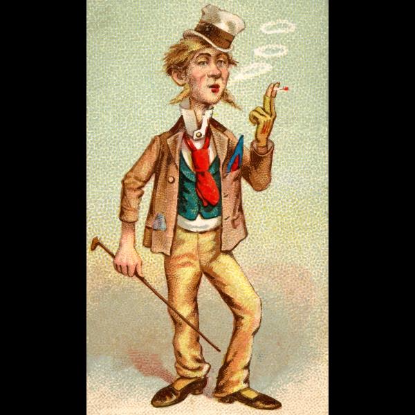 Vintage smoker