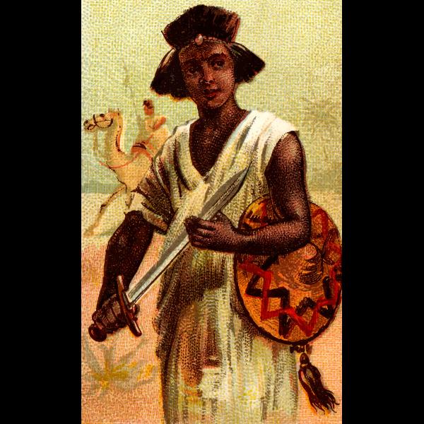 Nubian sword