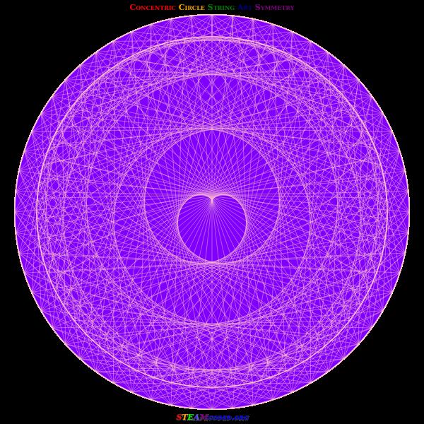 Circle Symmetry 4