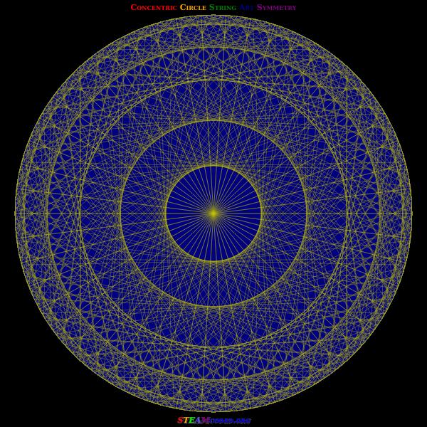 Circle Symmetry 5
