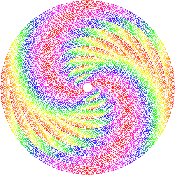Circular Design colourful