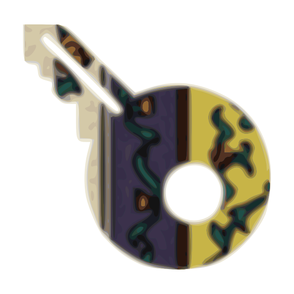 Cloth key