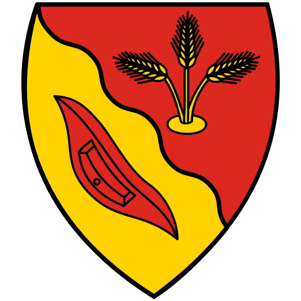 Vector image of coat of arms of Neuenkirchen municipylity