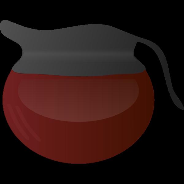 Coffee Pot Vector Art