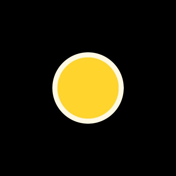 Cartoon coin vector image