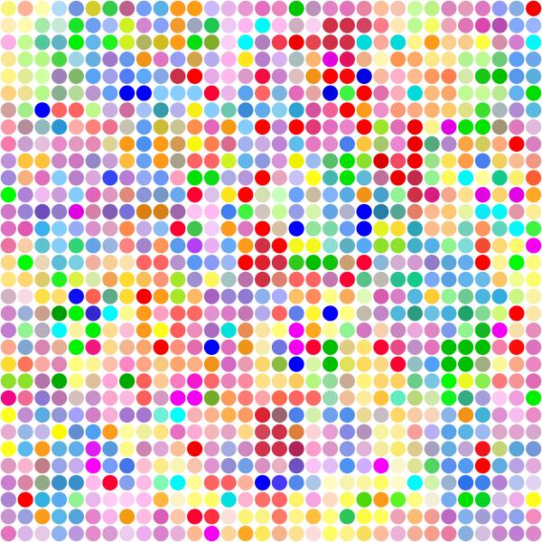 Color Dot Pattern