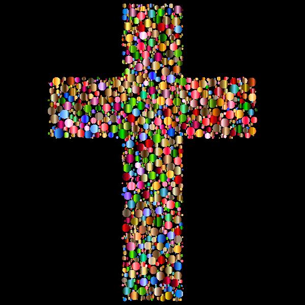 Colorful Cross Circles 3