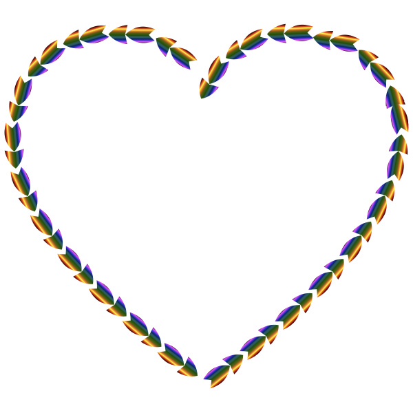 Colorful Direction Heart