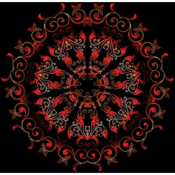 Colorful Floral Design 10