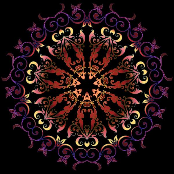 Colorful Floral Design 15
