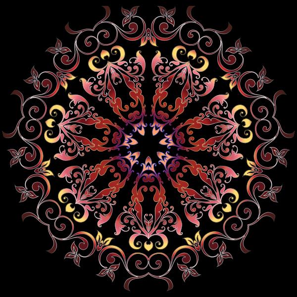 Colorful Floral Design 16