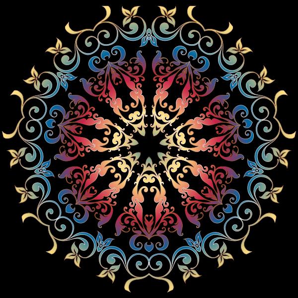 Colorful Floral Design 19