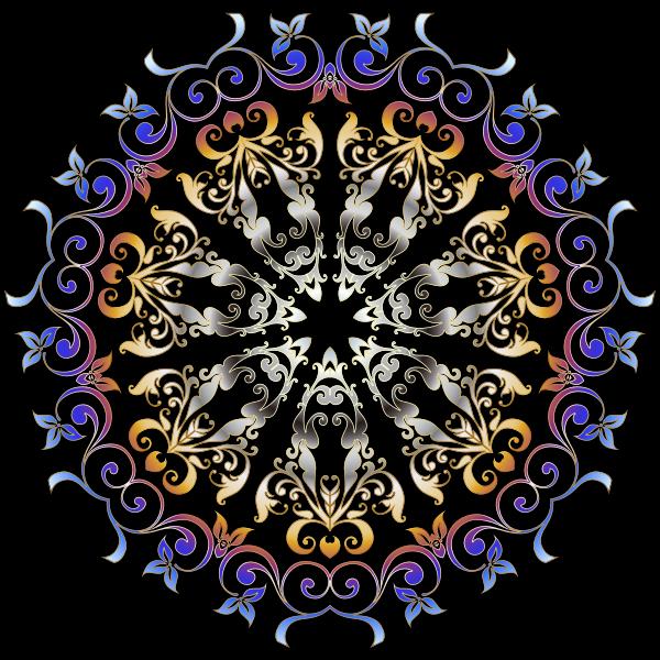 Colorful Floral Design 3
