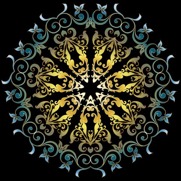 Colorful Floral Design 4
