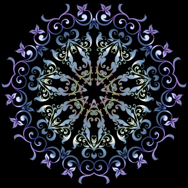 Colorful Floral Design 6