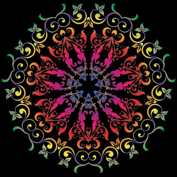 Colorful Floral Design 7