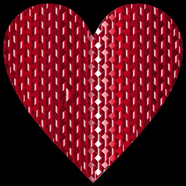Colorful Heart Lattice Weave 8