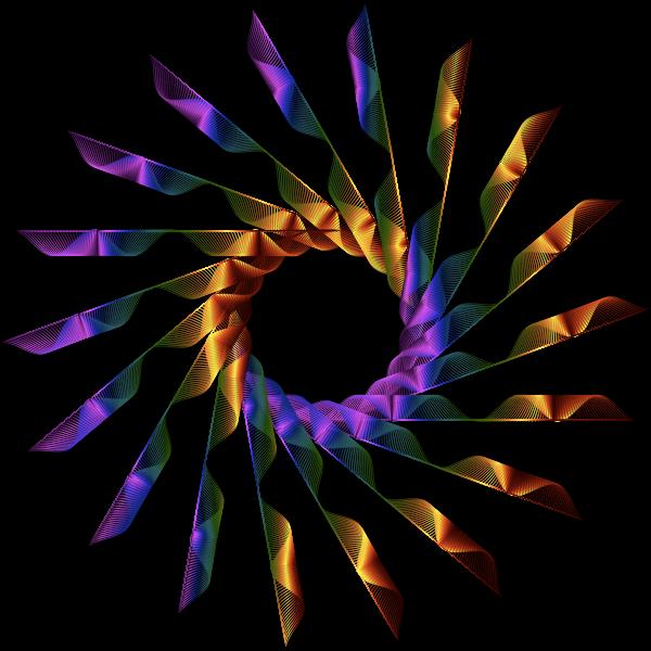 Colorful Nova Line Art 3