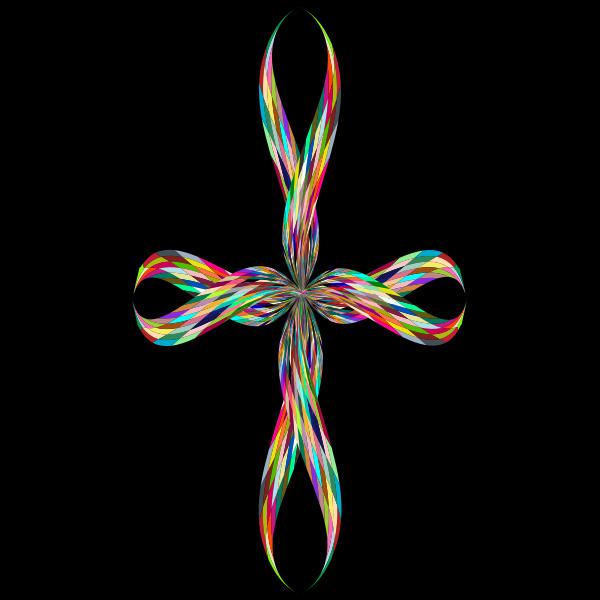 Colorful Stylized Cross