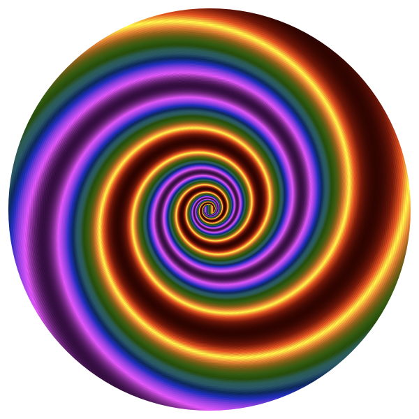 Colorful Swirling Vortex 4
