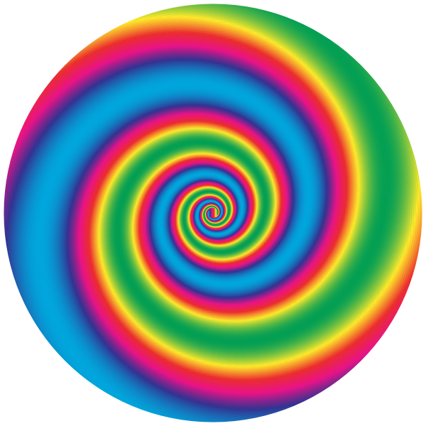 Colorful Swirling Vortex