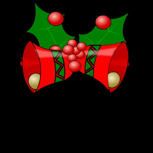 Vector illustration of Christmas bells