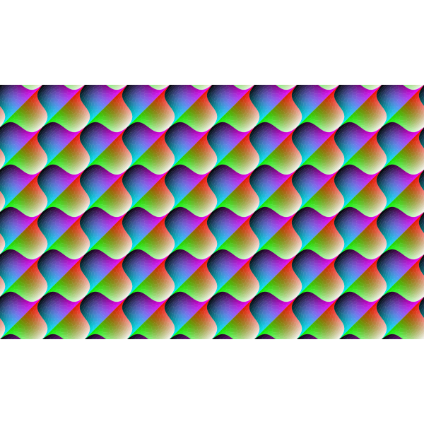 Colorful Background With Repetitive Pattern