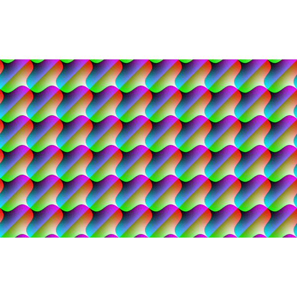 Background with colorful prismatic pattern