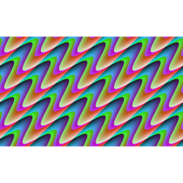 Colorful Background With Wavy Pattern