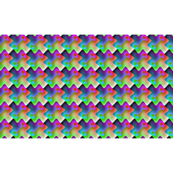 Colorful Background With Prismatic Pattern