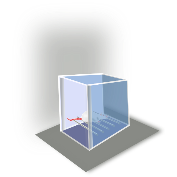 Conditioning box vector drawing