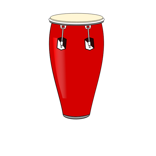Red conga