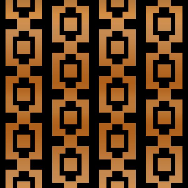Copper Square Pattern