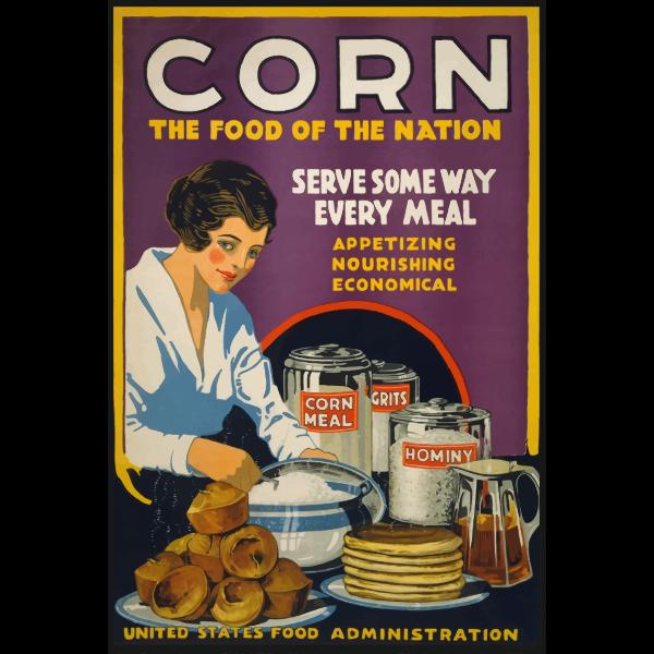 Corn war poster