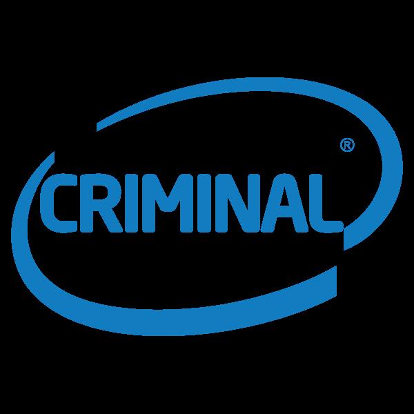Criminal blue logo