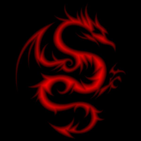Crimson Tribal Dragon 56