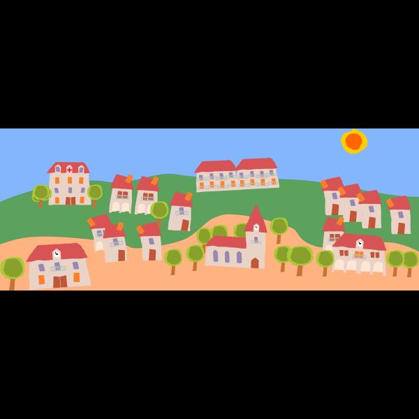 Crooked village 01