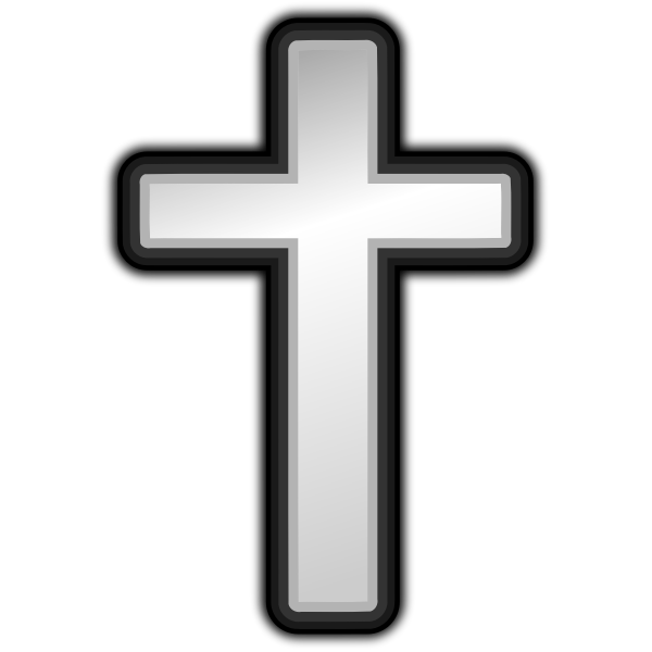 Vector illustration of cross