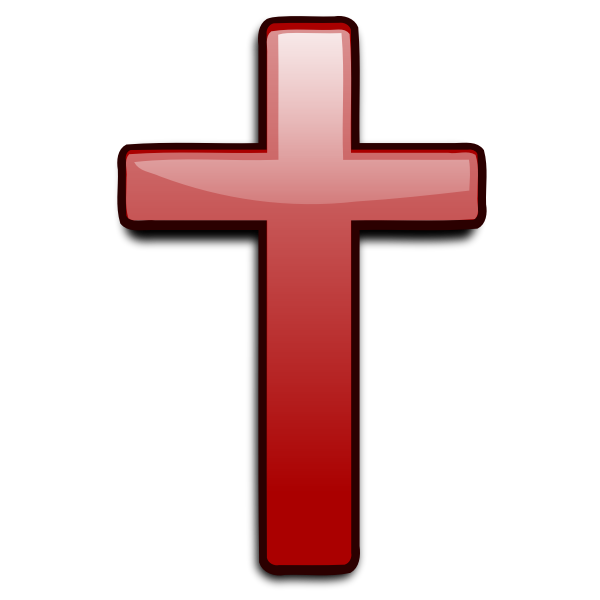 Vector image of religious symbol