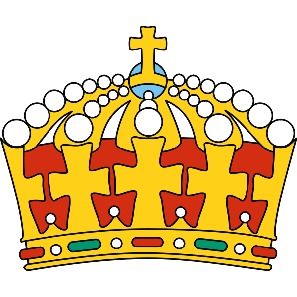 Colorful crown